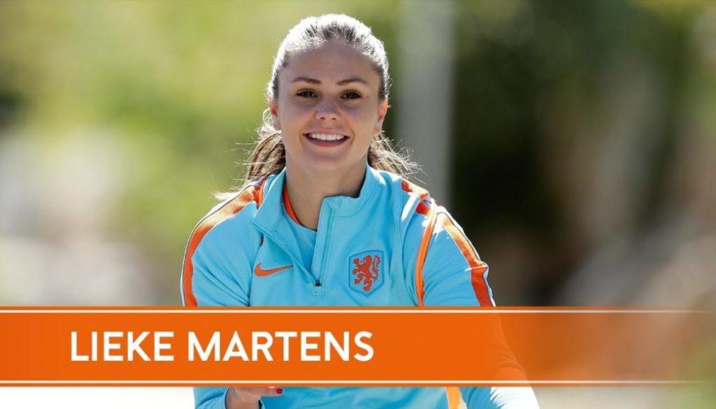 Lieke Martens op het WK